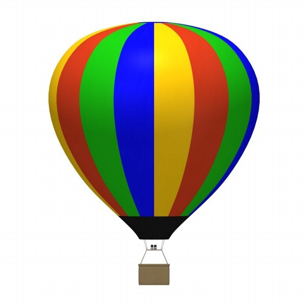 600x600 Hot Air Balloon