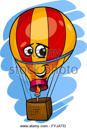 300x445 Cartoon Hot Air Balloon