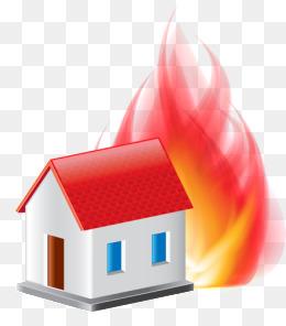 260x296 Cartoon House Fire, Cartoon, Fire, Police Fire Png Image For Free