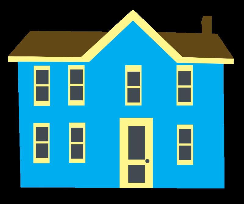 800x669 House Clipart 3