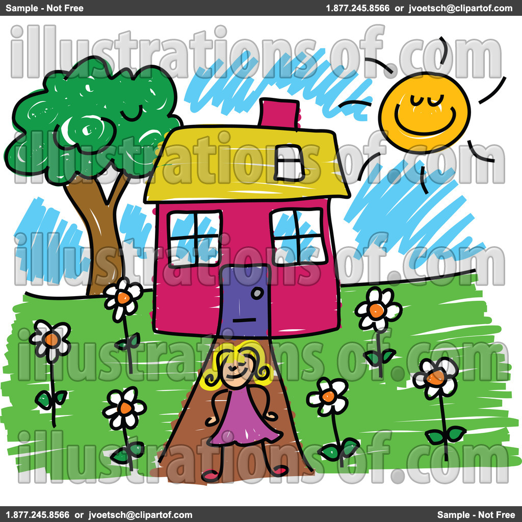 1024x1024 House Free Clipart