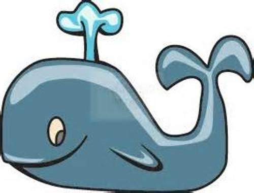 Cartoon Humpback Whale Clipart