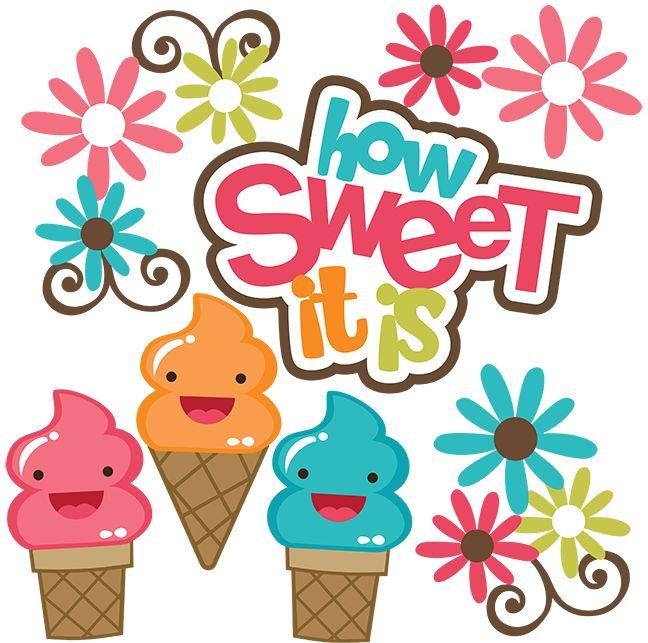 Cartoon Ice Cream Sundae Clipart