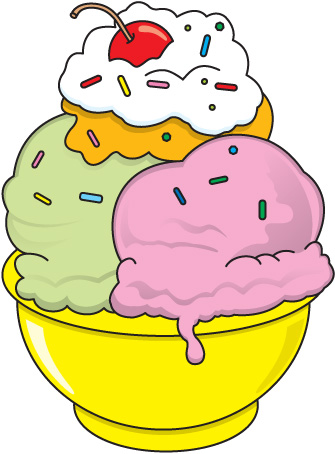 335x454 Ice Cream Sundae Ice Cream Free Clipart Ice Sundae Clip Art