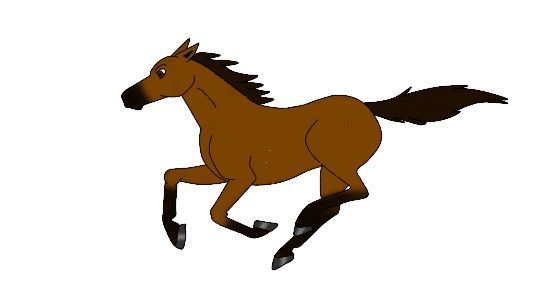 550x300 Animated Horse Gif Horse Art Horse And Animal