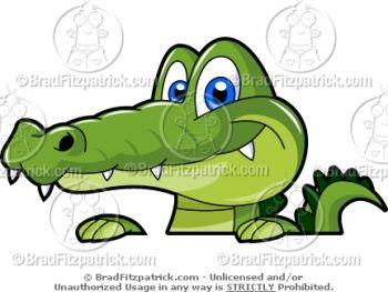 Cartoon Images Of Alligators