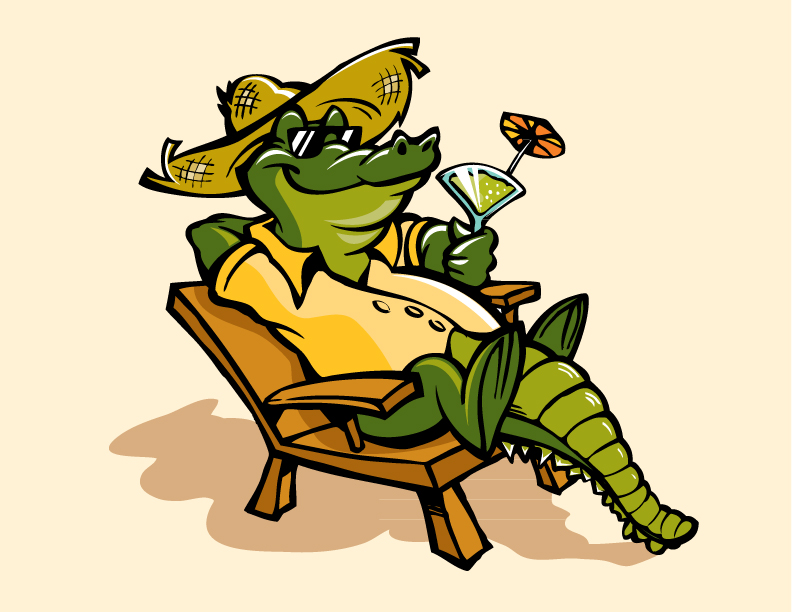 Cartoon Images Of Alligators | Free download on ClipArtMag