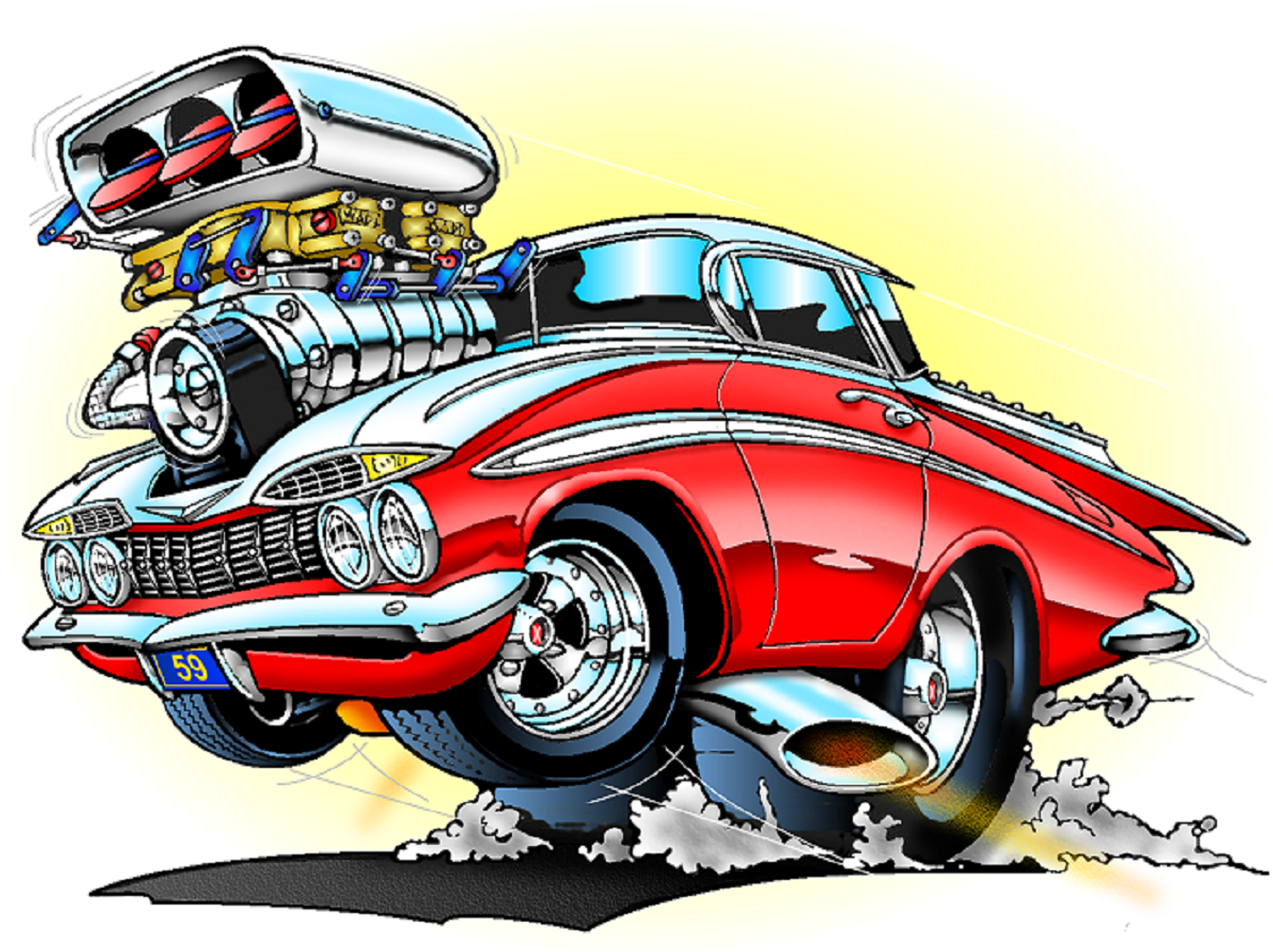 Cartoon Images Of Cars | Free download on ClipArtMag