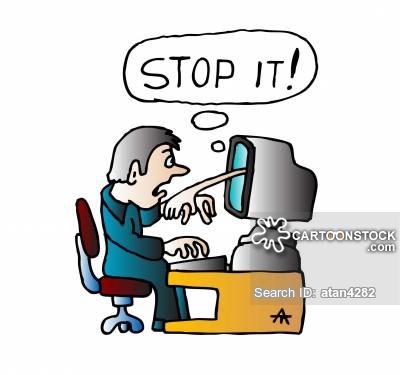 400x375 Computer Frustrations Cartoons And Comics