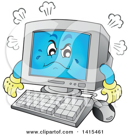 450x470 Royalty Free Stock Illustrations Of Computers By Visekart Page 1