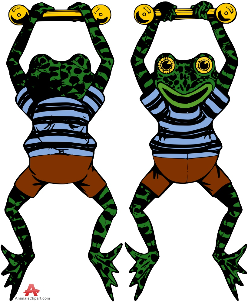 819x999 Cartoon Frogs Hanging Free Clipart Design Download