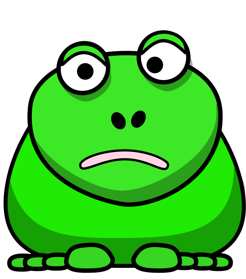 794x900 Cartoon Frog Clip Art Image 8