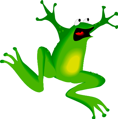 407x412 Free Pictures Of Cartoon Frogs