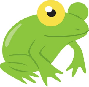 300x293 Frogs Clipart Image