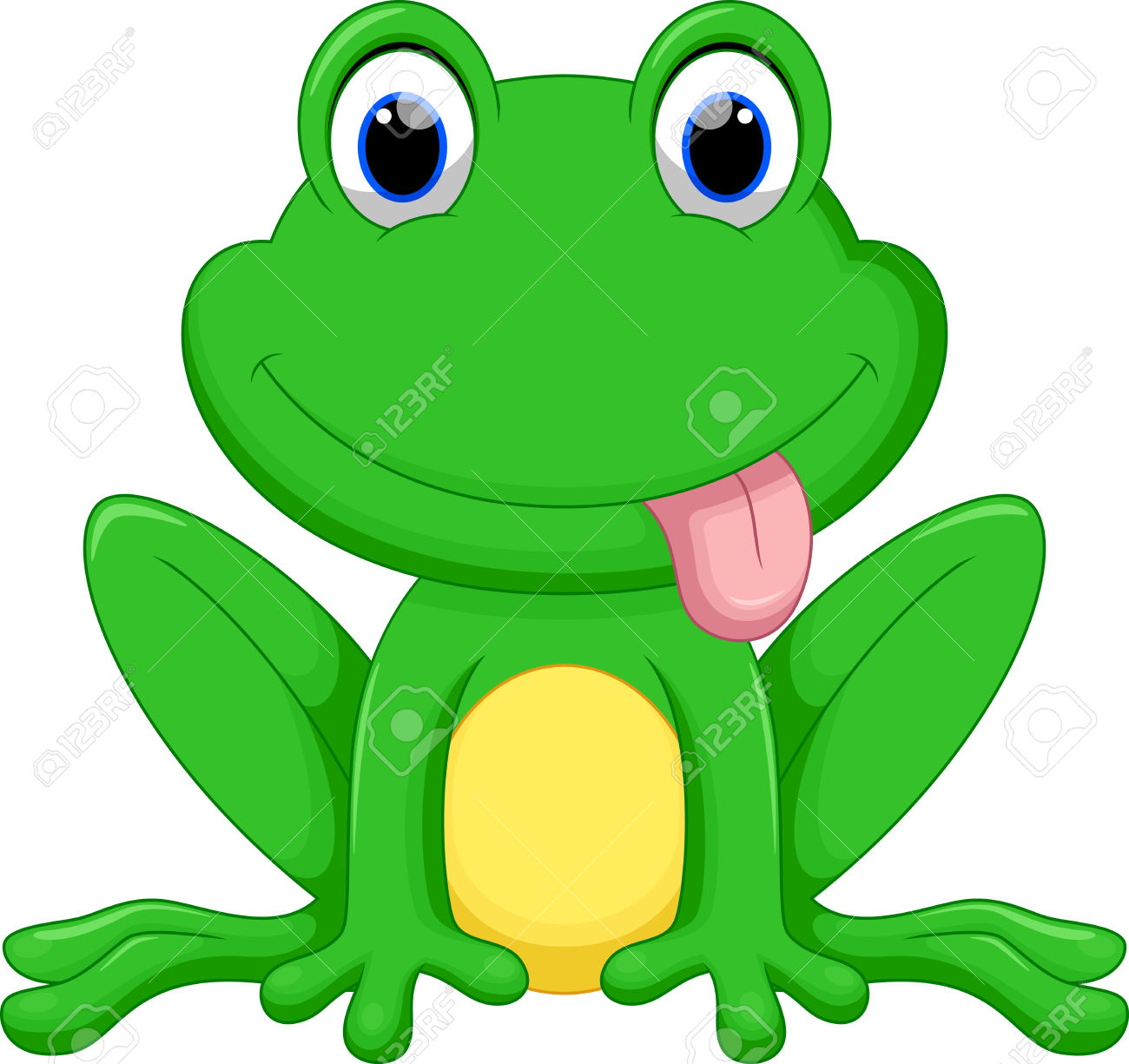 1300x1225 Amphibian Clipart Cartoon