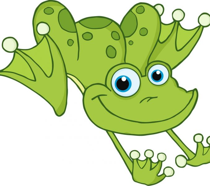 678x600 Cartoon Drawings Of Frogs Kids Coloring