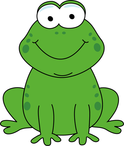 424x500 Cartoon Frog Clip Art