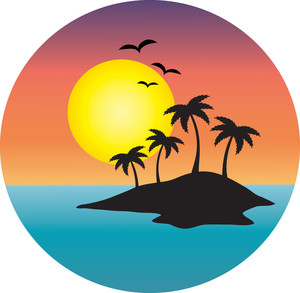 300x293 Free Island Clipart Image 0071 1012 0820 2524