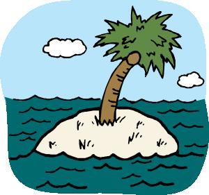 300x281 Island Clip Art