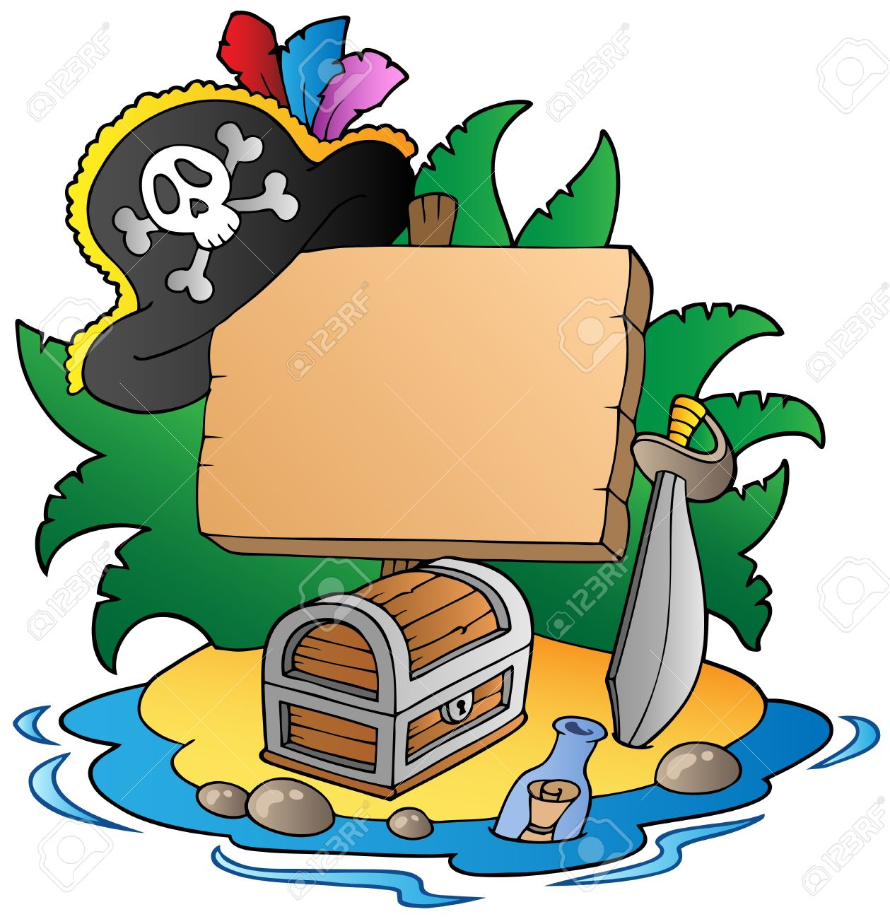 1259x1300 Island Clipart Pirate Island