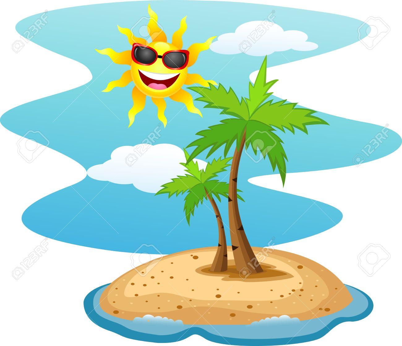 1300x1119 Island Clipart Tropical Climate