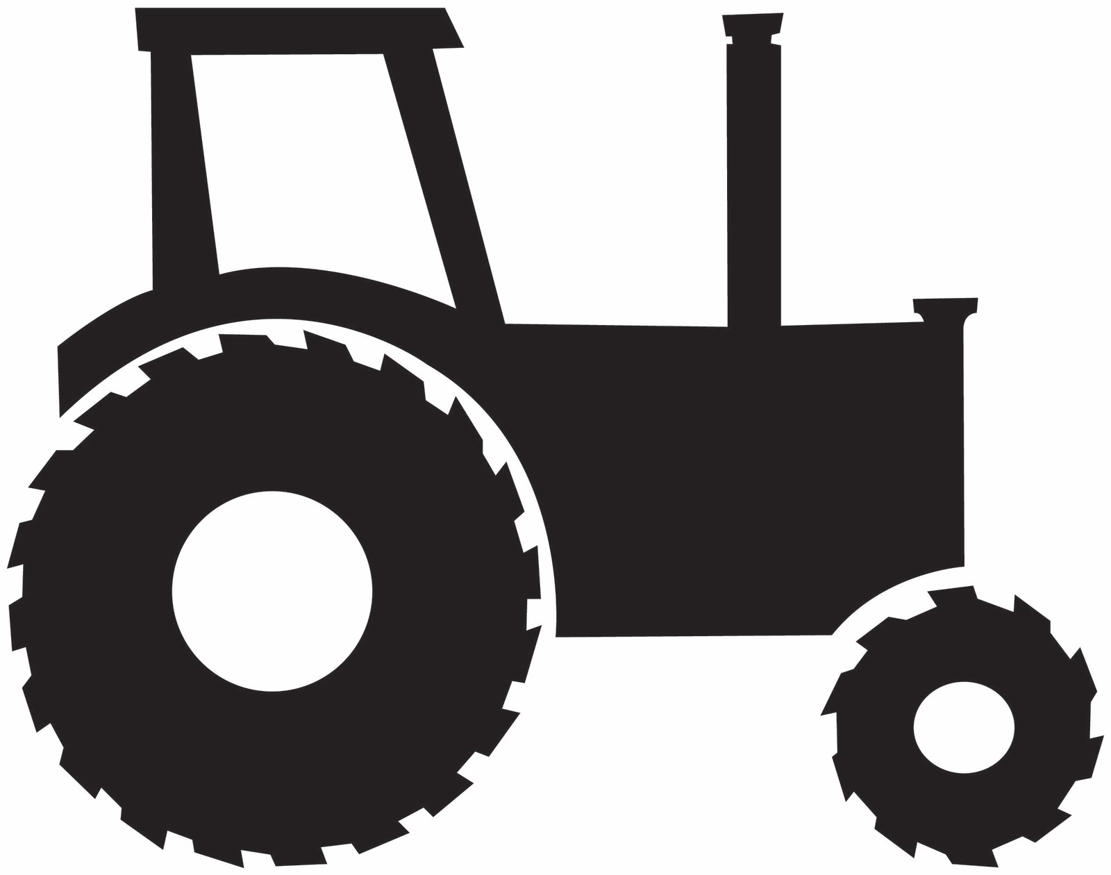 Cartoon John Deere Tractor Clipart