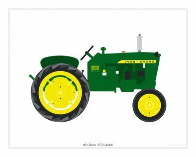 Cartoon John Deere Tractor Clipart Free Download On Clipartmag