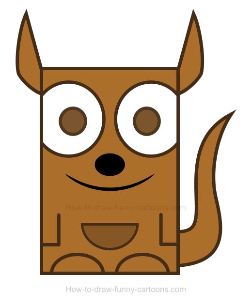 520x632 Kangaroo Clipart