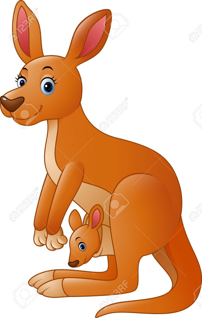 825x1300 Kangaroo Clipart Red Kangaroo
