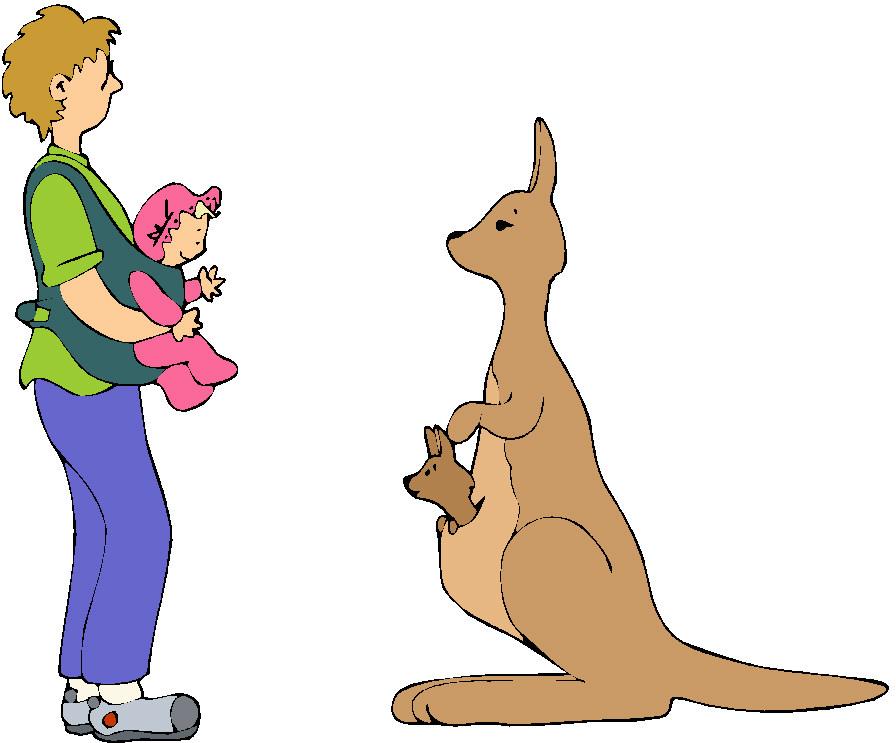 896x743 Kangaroo Graphics And Animated S Clip Art