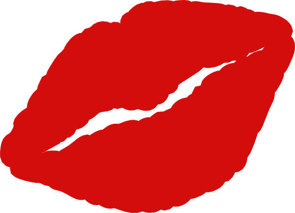 600x432 Kissing Clipart Kissy Lip