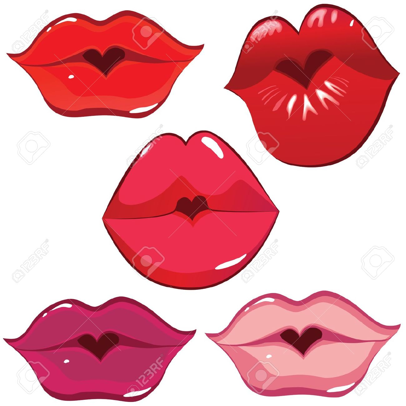 1300x1300 Kissing Clipart Puckered Lip