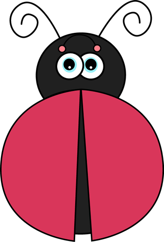 338x500 Ladybug Without Spots Clip Art