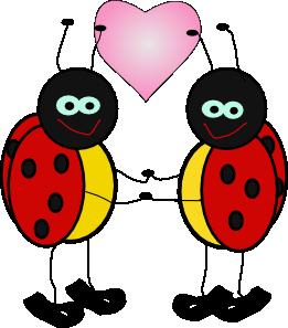 261x297 Ladybugs Cartoon Clip Art