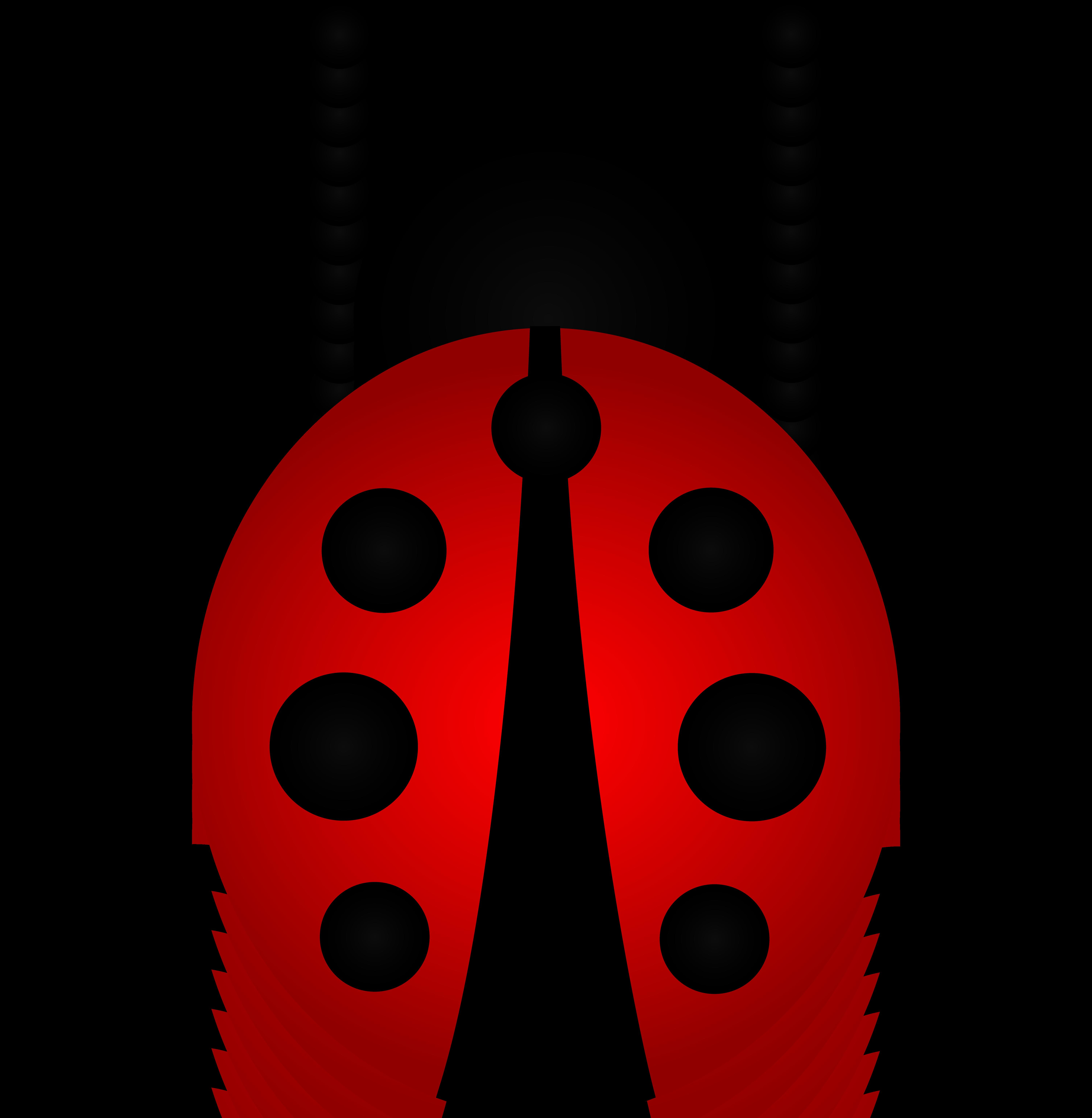 6023x6167 Little Red Ladybug Clip Art