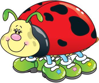 346x290 Ladybug School Clipart