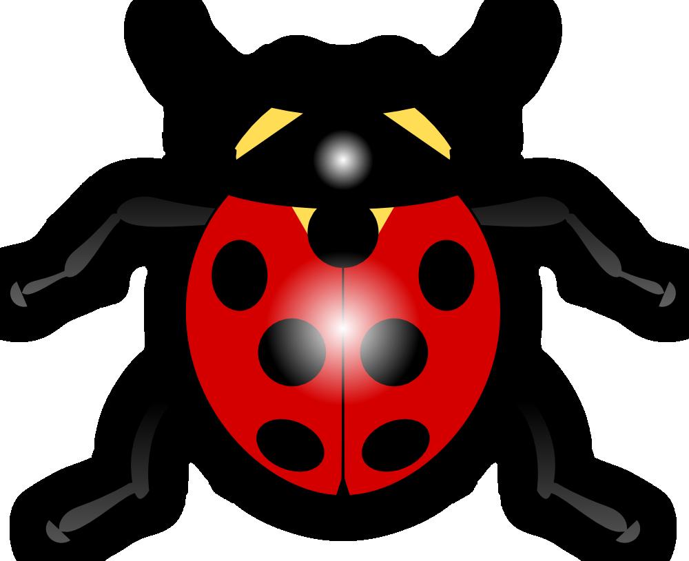 1000x815 Cartoon Ladybug Clip Art Png Png Mart