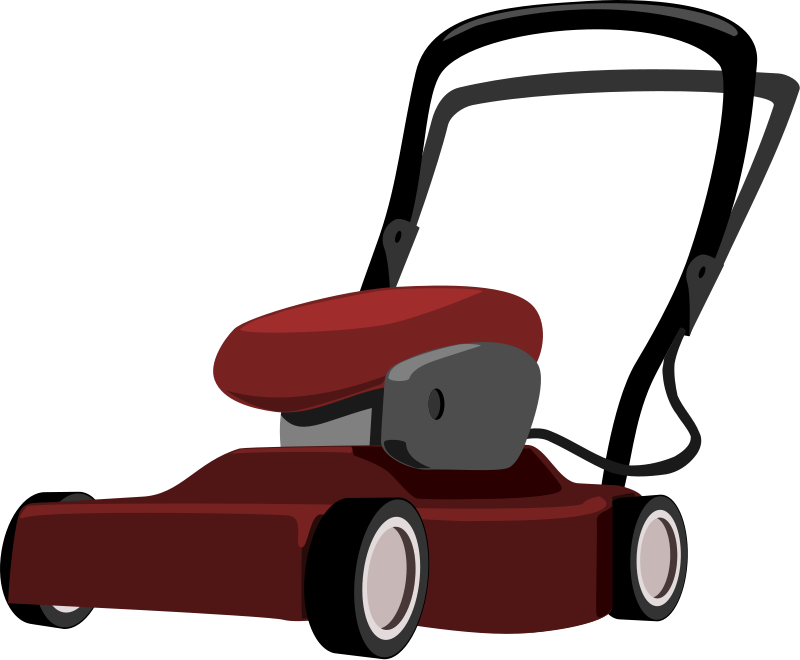 800x660 Lawn Mower Free To Use Clip Art