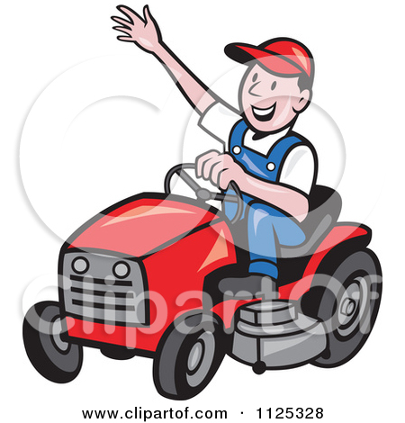 450x470 Red Clipart Lawn Mower