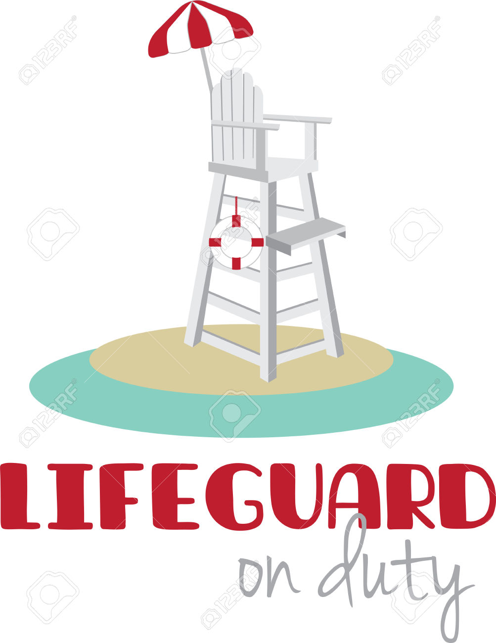 1003x1300 Floating Clipart Lifeguard Chair