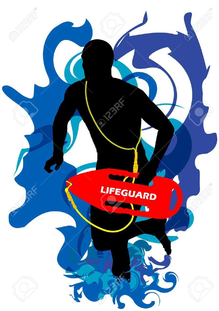 919x1300 Lifeguard Patch Clipart