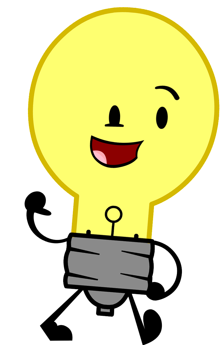 700x1100 Light Bulb Clipart Guy