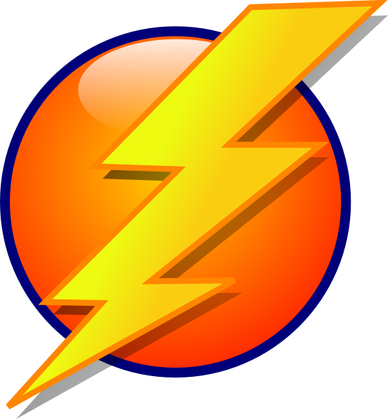 Cartoon Lighting Bolt