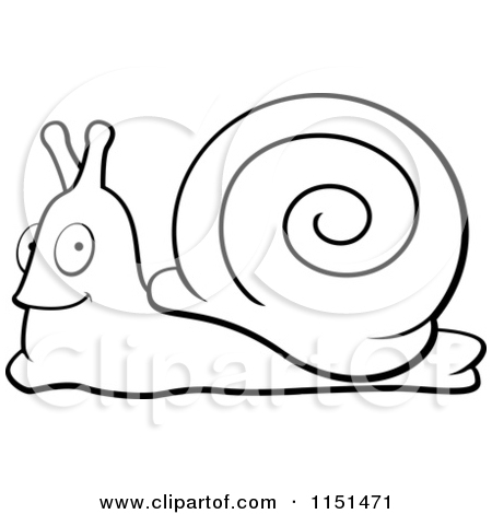 450x470 Clip Art Cartoon Snail Clipart