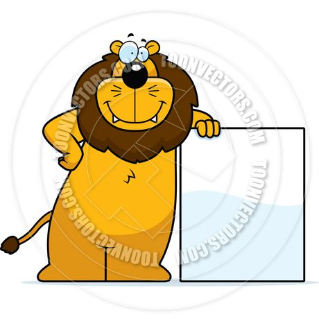 Cartoon Lion Clipart