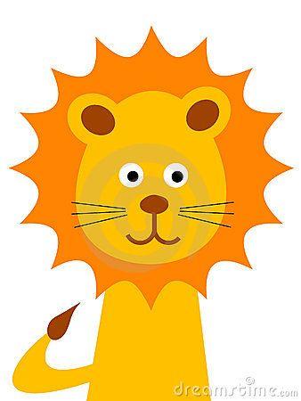 Cartoon Lion Face Pictures