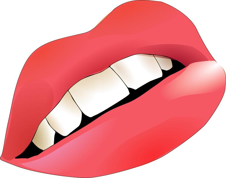 768x606 Big Lips Clip Art Download