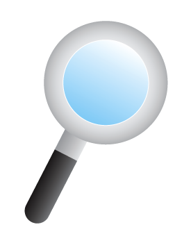 275x350 Free Magnifying Glass Clip Art Web Graphics