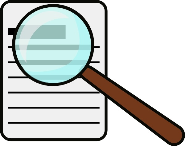 600x475 Magnifying Glass Clip Art Free Vector In Open Office Drawing Svg