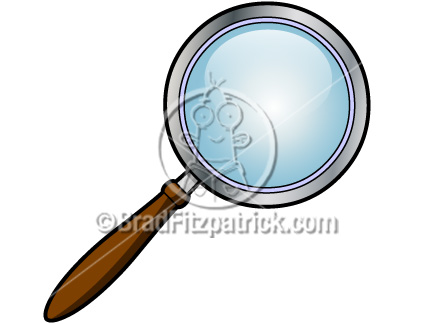 432x324 Cartoon Magnifying Glass Clip Art Magnifying Glass Clipart